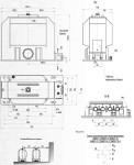 Габаритные и установочные размеры ЗНИОЛ-10-1