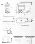 Габаритные и установочные размеры ЗНИОЛ-10-П